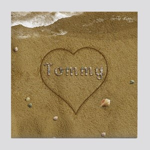 Tommy Beach Love Tile Coaster